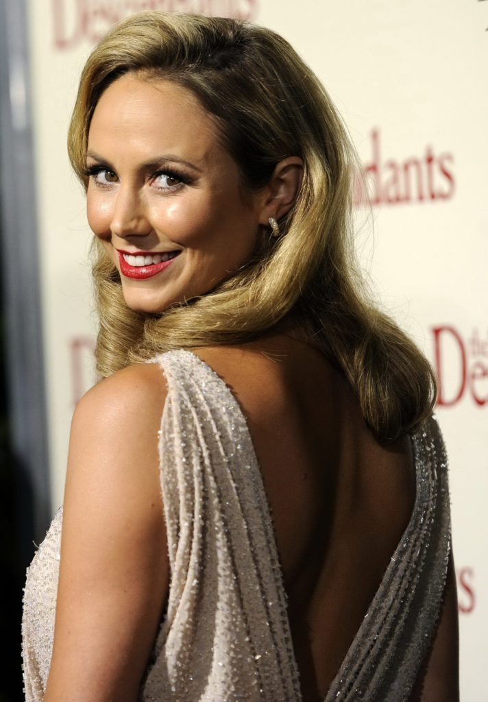 Stacy Keibler Backless Pics