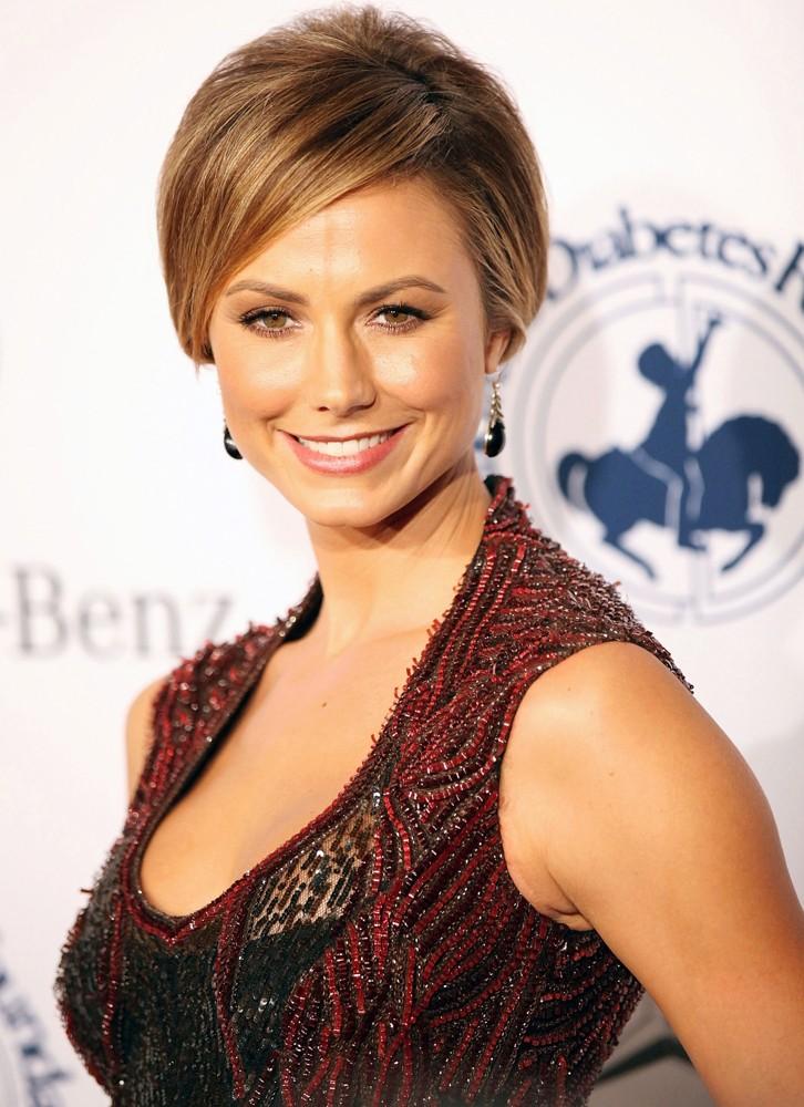 Stacy Keibler Short Hair Pics
