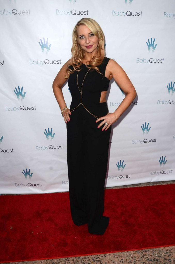 Tara Strong In Black Dress Photos